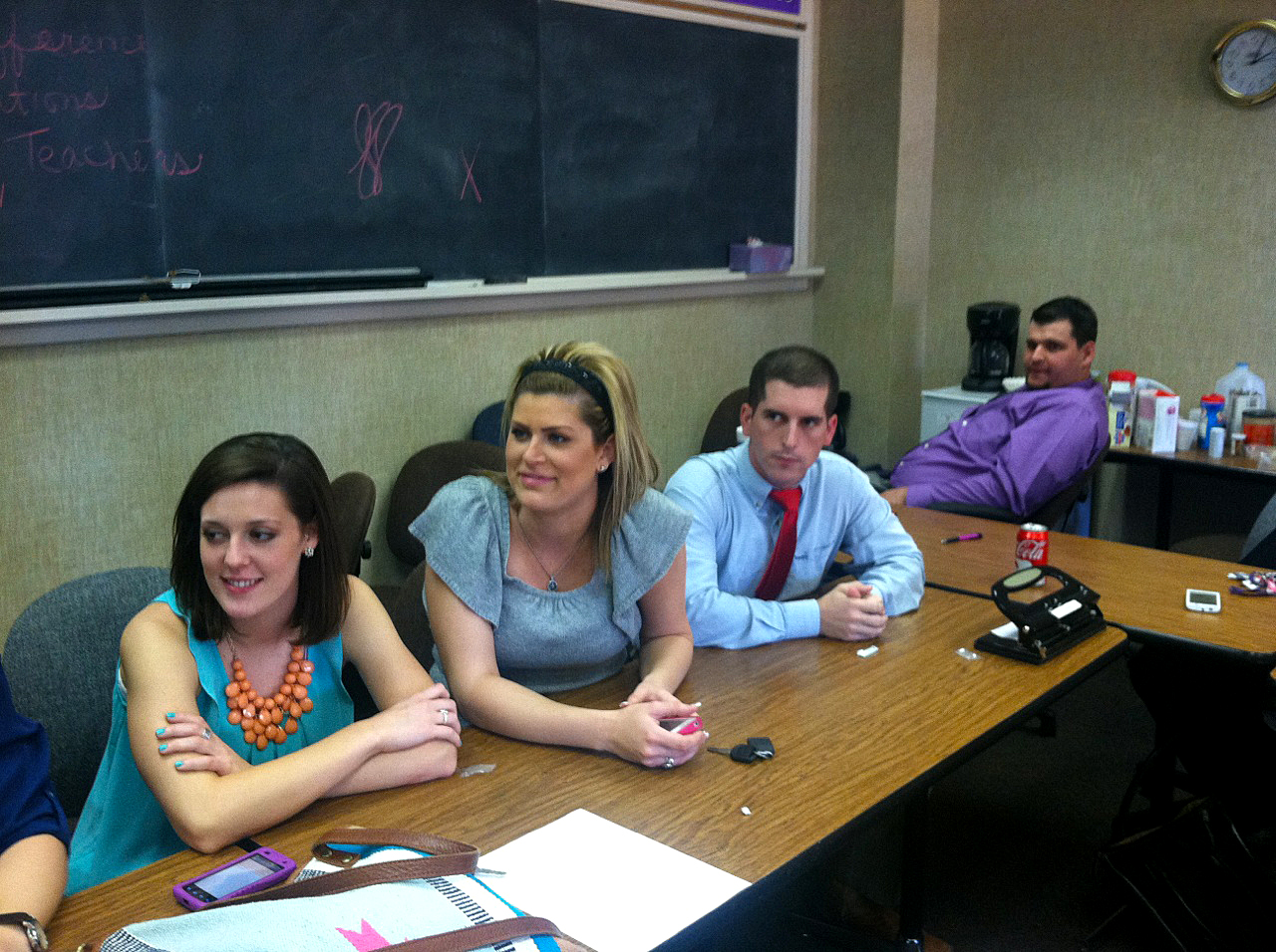 Student Teachers hear about how to utilize social media appropriately. (Photo courtesy of Bree Kingston)