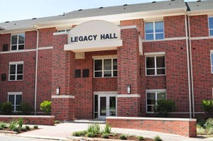 Legacy Hall, built in 2011, is Tarleton's newest residential facility. (Photo courtesy of Tarleton State University)