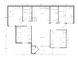 TexanVillage Floor Plan