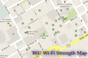 Students map Wi-Fi availability on campus