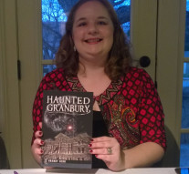 The Granbury Ghosts and Legends tour co-founder had her first book released Saturday.Photo by Sara Gann, Texan News