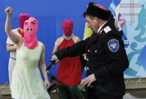 Sochi Olympics Pussy Riot