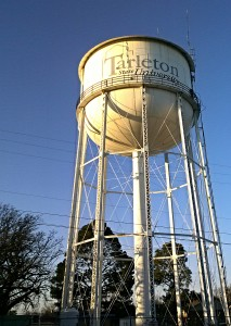 water tower current