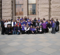 Tarleton students from all campuses gathered at the Texas capitol for Student Day.Courtesy photo of Shanna Spikes