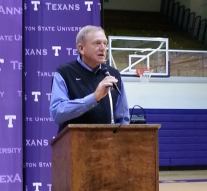 Coach Ronnie Hearne has over 1,000 wins in his coaching career.Photo by Todd Coley, Texan News Service