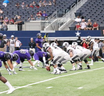 The Texans fell to Florida Tech Saturday night at AT&T Stadium.Photo by Todd Coley