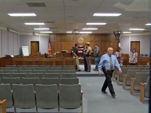 The Erath County District Court is still set to be the site of the Routh trial. Photo Courtesy of wfaa.com