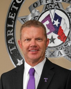 Parking committee chair and police chief, Matt WelchPhoto Courtesy of tarleton.edu