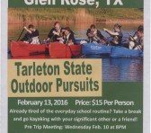 Outdoor Pursuits is hosting a couples kayaking trip this weekend just in time for Valentines Day. Photo curtsey of Outdoor Pursuits.