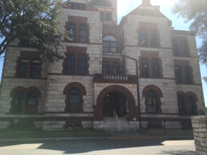 Erath County voters can place their ballot at the courthouse, just one of the many locations in Stephenville. Photo by Ashley Ford