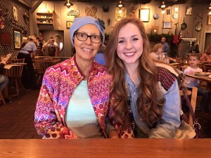"Carla Maxwell and her daughter, Olivia, enjoyed time together over the holidays.(Photo from the Facebook page ""Carla's Journey"")"