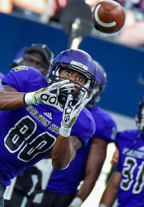 Le'Nard Meyers is a senior receiver on the Tarleton State football team.(Photo from Tarleton Athletics)